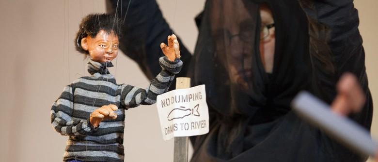 Nan and Tuna Puppet Show