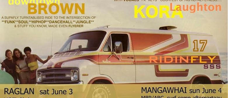 Sunshine Soundsystem, Downtown Brown, Laughton Kora