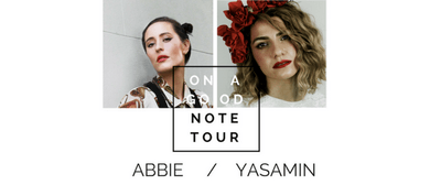 On a Good Note Tour (Yasamin, Abbie & Guests)