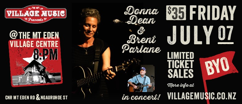 Donna Dean and Brent Parlane in Concert