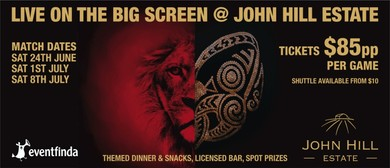 All Blacks vs Lions at John Hill Estate