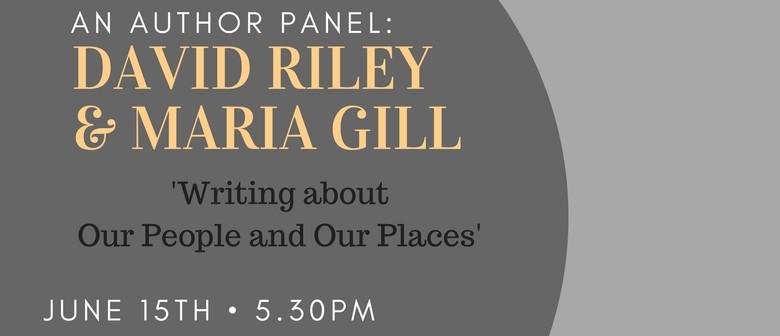 An Author Panel: David Riley & Maria Gill