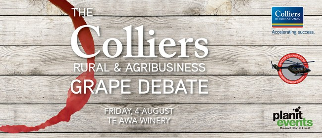 The Colliers Rural Grape Debate: SOLD OUT