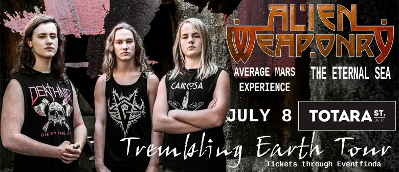 Alien Weaponry - Trembling Earth Tour