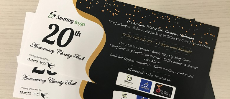 Seating to Go 20th Anniversary Charity Ball