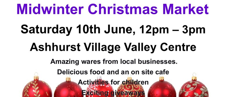 Ashhurst Community Midwinter Christmas Market