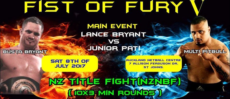 Multitrade Boxing Promotions - Fist Of Fury V