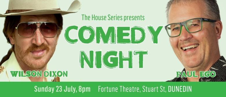Comedy Night with Wilson Dixon & Paul Ego
