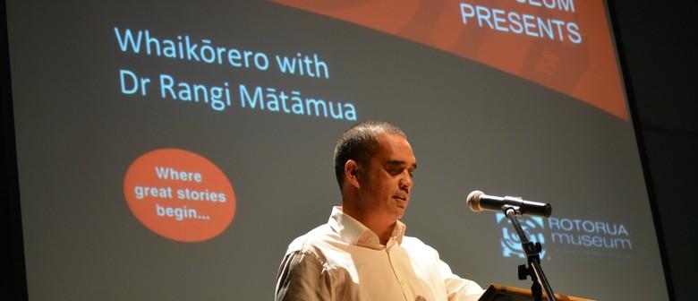 Whaikōrero With Dr Rangi Mātāmua