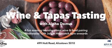 Wine and Tapas night