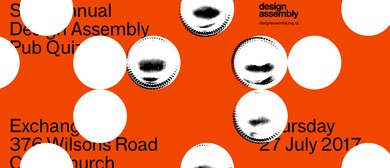 Annual Design Assembly Pub Quiz