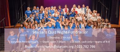 StarJam Christchurch Quiz Night Fundraiser