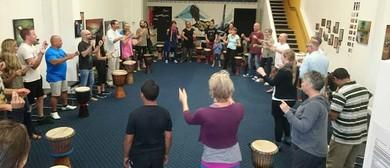 African Hand Drumming Course Tauranga