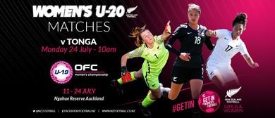 NZ Football Women's U-20 vs Tonga