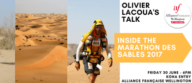 Inside the Marathon Des Sables - Olivier Lacoua's Talk