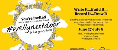 #Wellynextdoor Exhibition - Crafting Workshop