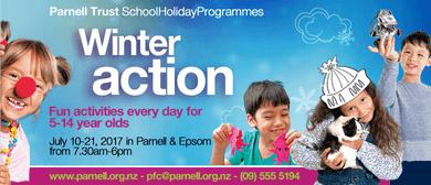 Pyjama Party - Parnell Trust Holiday Programme