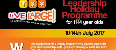 School Holiday Leadership Programme