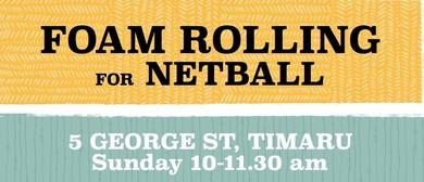 Foam Rolling for Netball