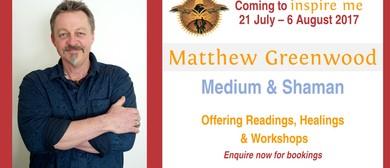 Shamanism Workshop Level 1 With Matthew Greenwood