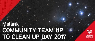 Matariki Team Up to Clean Up Day