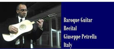 Baroque Guitar Maestro Giuseppe Petrella