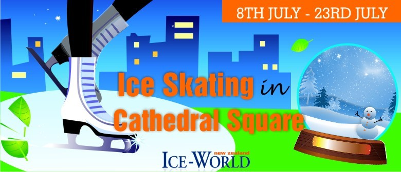 Ice Skating In Cathedral Square - Christchurch - Eventfinda.   345a7de0837