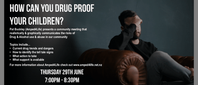 How to Drug Proof Your Child Public Event
