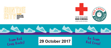 Auckland Marathon - Be Part of the Response - Team Red Cross