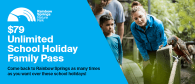 Unlimited School Holiday Family Pass