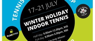 Indoor Holiday Tennis Winter Camp