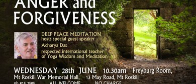 Anger and Forgiveness Talk by Acharya Das