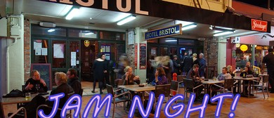 Roomfulla Blues Jam Night – MC Peter Bosman