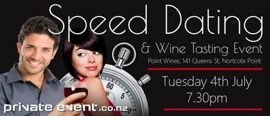 Speed Dating & Wine Tasting