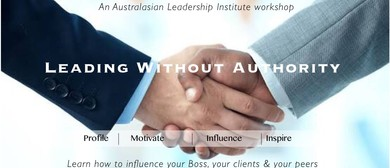 Leading Without Authority: A Mark Wager Workshop