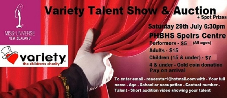 Talent Show and Auction
