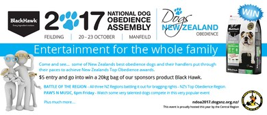 Black Hawk National Dog Obedience Assembly 2017