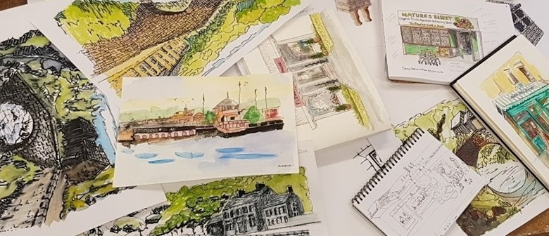 Sketching and Watercolour Salon with Ginette Wang (GWA1)