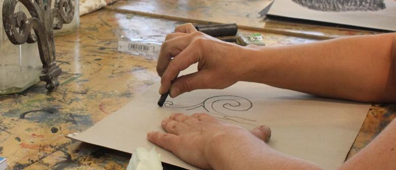 Studio One Toi Tū - Drawing Studio: Wet and Dry Media