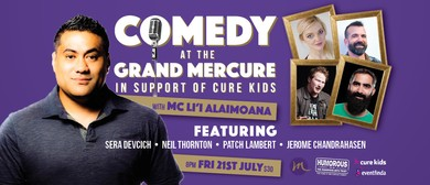 Great Comedy At the Grand Mercure - In Support of Cure Kids
