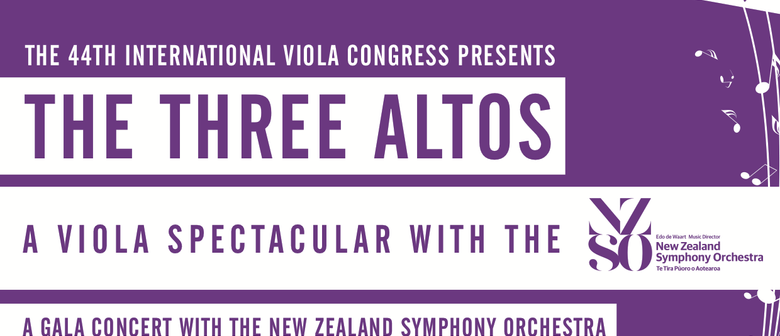 The Three Altos - A Viola Spectacular