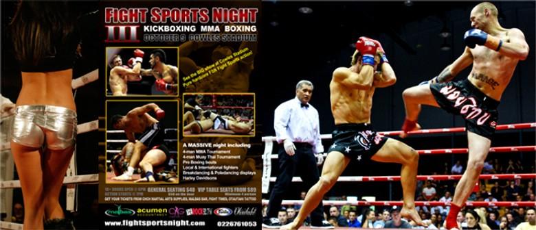 FSN 3 - Fight Sports Night: POSTPONED