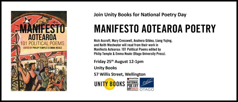 Manifesto Aotearoa Poetry