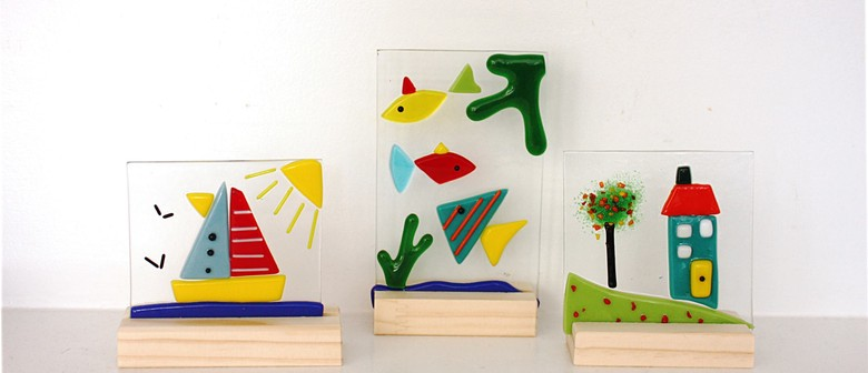 School Holiday Glass Fusing for Kids