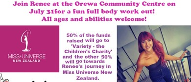 Orewa Fun Boot Camp Fundraiser