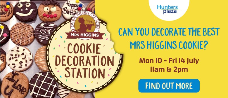 Can You Decorate the Best Mrs Higgins Cookie?
