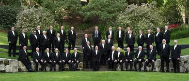 New Zealand Male Choir Waimate Winter Warm Up