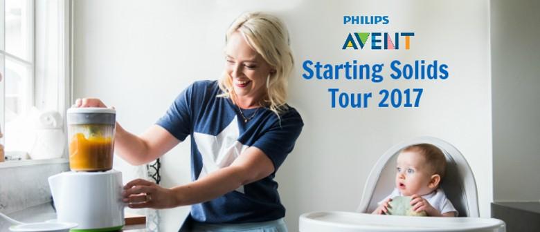 Dr Julie Bhosale Starting Solids Tour