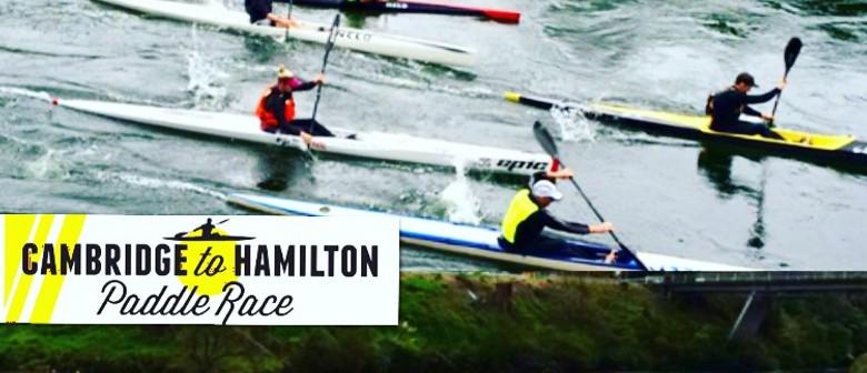 Cambridge to Hamilton Paddle Race