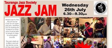 Tauranga Jazz Society - Jazz Jam